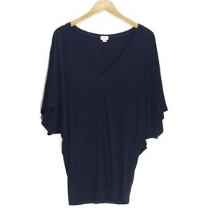 Wilfred | Aritzia V-neck Dolman Sleeve Tunic Top